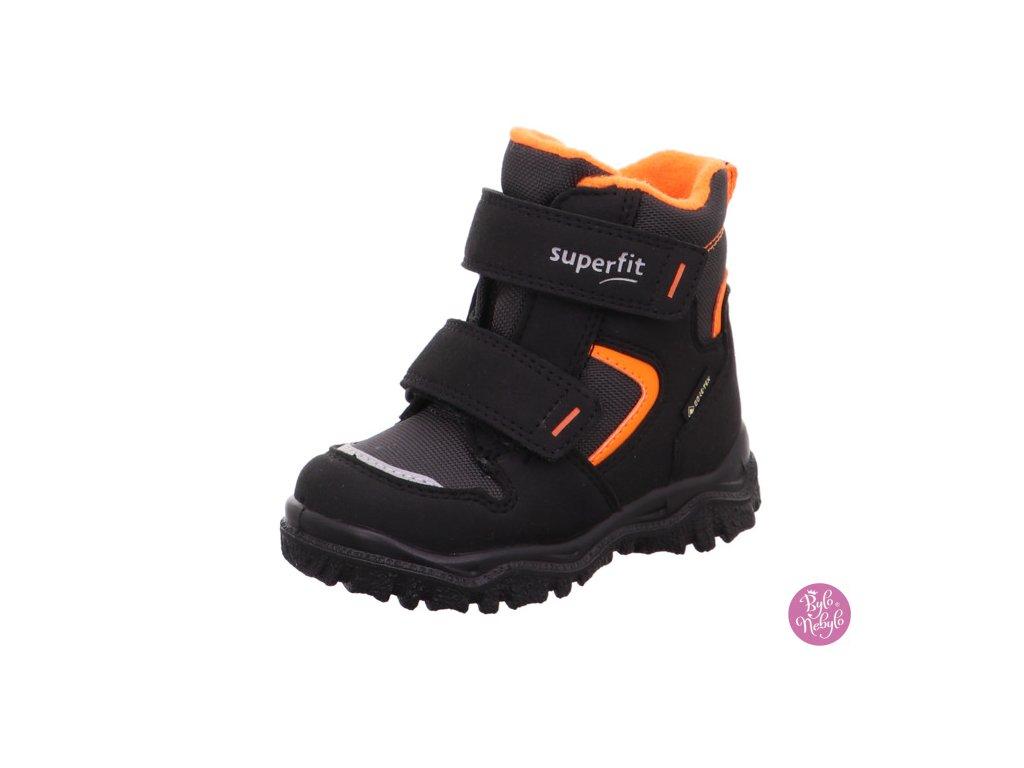 Dětské zimní boty Superfit Husky 1-000047-0010 Černá
