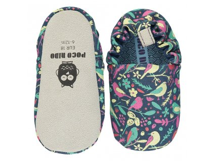 Chalk Birds Navy Top Sole SS20 Mini Shoes 1024x1024