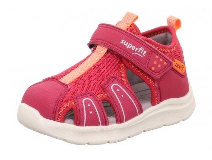 Dětské sandály Superfit Wave 1-000478-50 Růžová