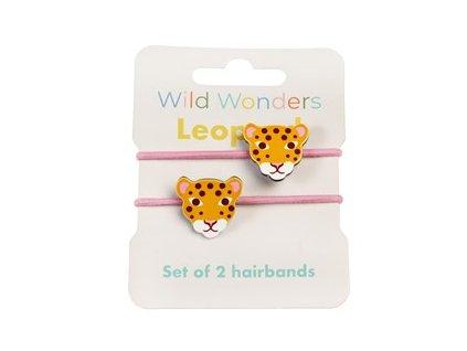 29172 wild wonders leopard set 2 hairbands