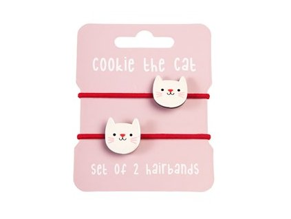 29170 cookie the cat set 2 hairbands