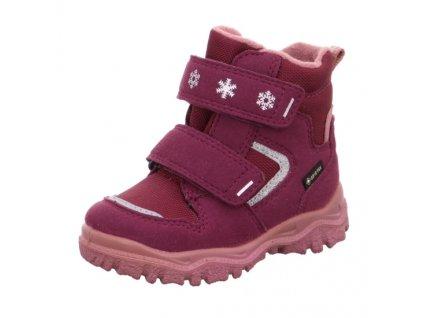 Dětské zimní boty Superfit Husky 1-000045-5020 Červená