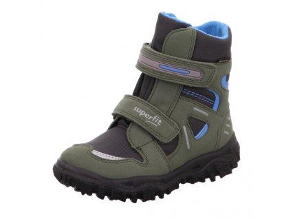Dětské zimní boty Superfit HUSKY1 1-809080-7000 Zelená GORE TEX