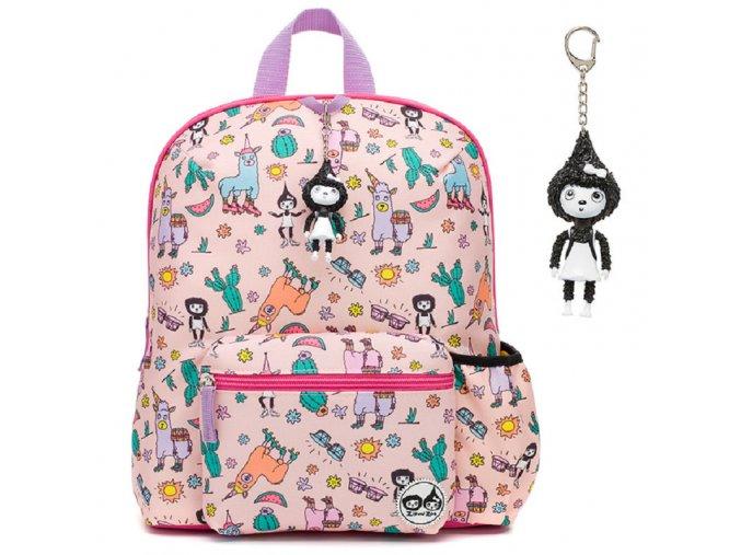 babymel zip zoe midi 3 backpack llama 34071 p