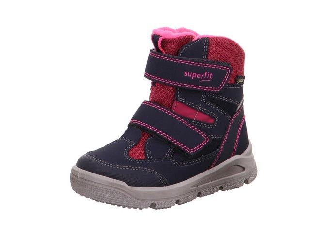 Dívčí sněhule SUPERFIT GORE-TEX 5-09078-82 Blue/Pink