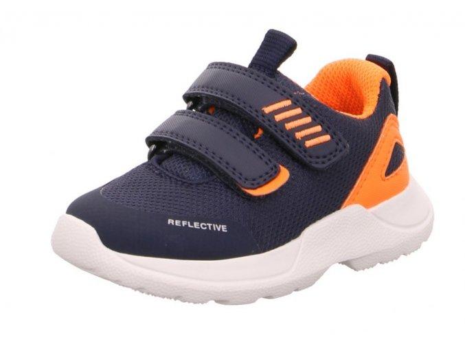 Dětské tenisky Superfit 6-09207-80 - Model RUSH Blau/Orange