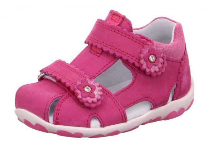 Dětské letní boty Superfit 6-09038-55 Velour Rosa