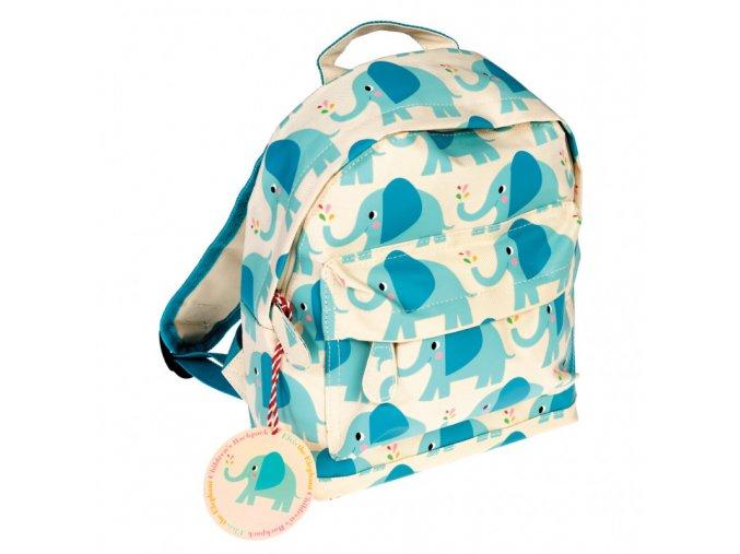 blue elvis elephant childrens mini backpack 27378 1