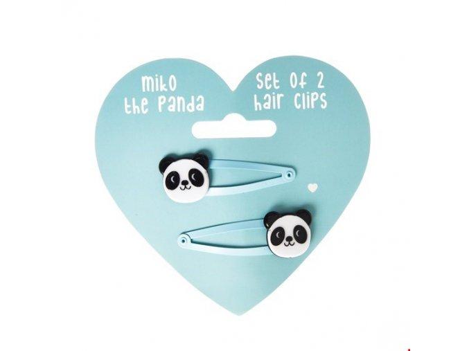 Dětské sponky Rex London - Miko The Panda