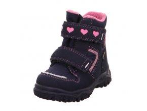 Dívčí sněhule SUPERFIT GORE-TEX 3-09045-90 Blue/Pink