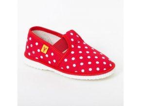 detska obuv papuce cervene bodky 502.thumb 409x369