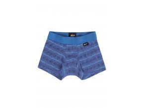 Chlapecký slip s nohavičkou | Pleas | modrá rybička |