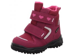 Superfit dětské zimní boty HUSKY1 1-00045-5010 Rot/Rosa Fialová