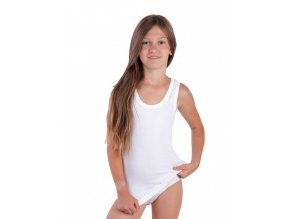Dívčí košilka ANEZ Bílá
