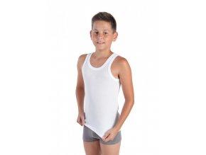 Chlapecký nátělník JANKO Bílý