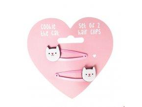 Dětské sponky Rex London - Cookie The Cat
