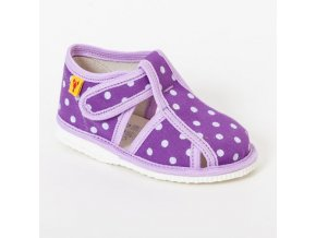 detska obuv papuce fialova bodka 324.thumb 409x369