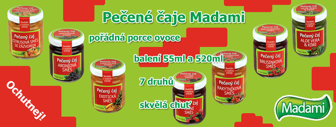 Pečené čaje Madami