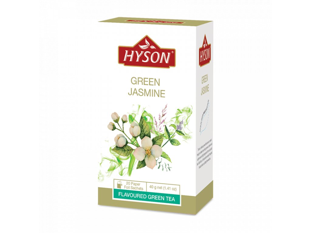 zeleny s jasminem