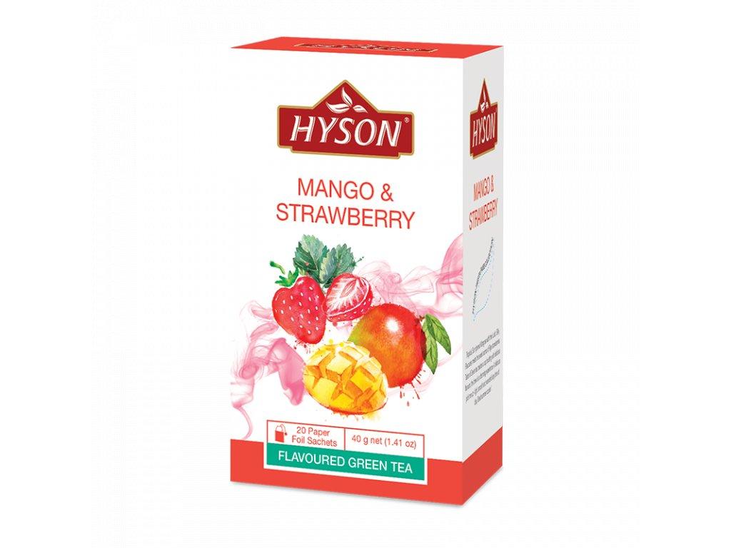 mango a jahoda
