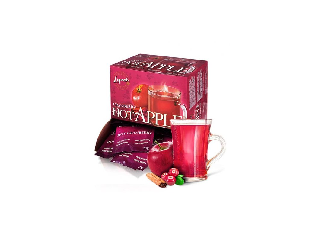hot apple sacek brusinka 50 new bez