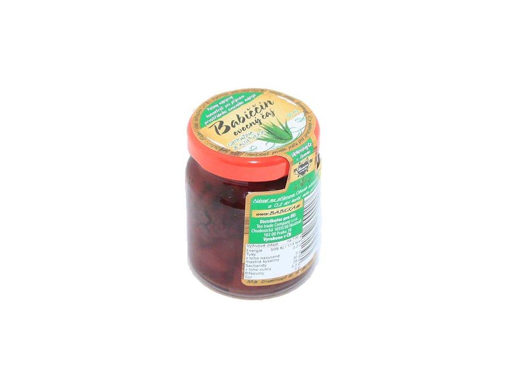 Babiččin ovocný čaj - Aloe Vera s ostružinou a kardamomem, 55ml