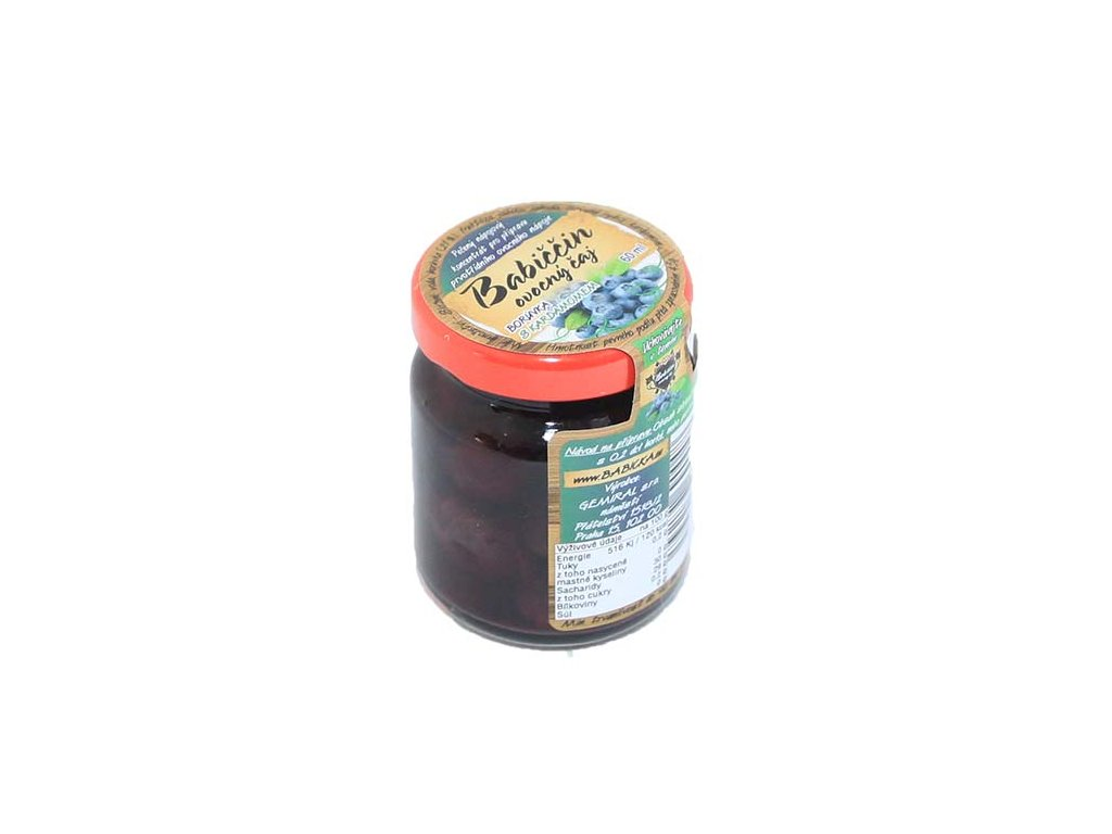 Babiččin ovocný čaj - Borůvka s kardamomem 60ml