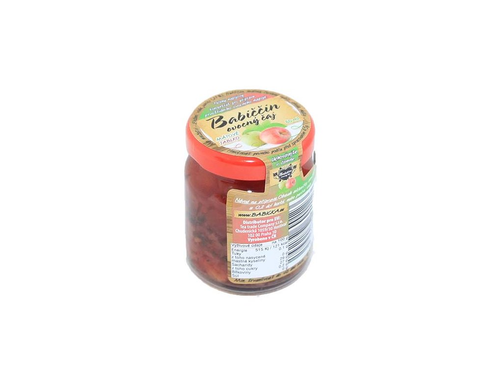 Babiččin ovocný čaj - Jablko s mátou 60ml