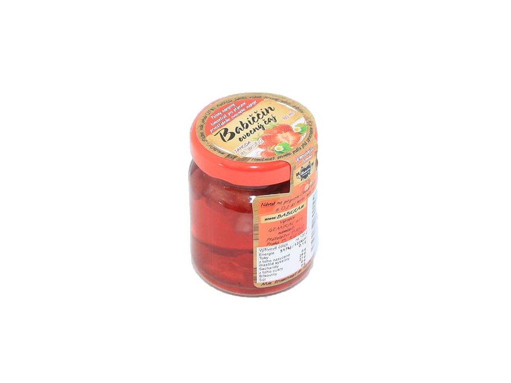 Babiččin ovocný čaj - Jahoda se skořicí, 55ml