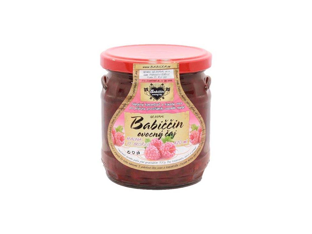 Babiččin ovocný čaj - Malina se skořicí, 420ml
