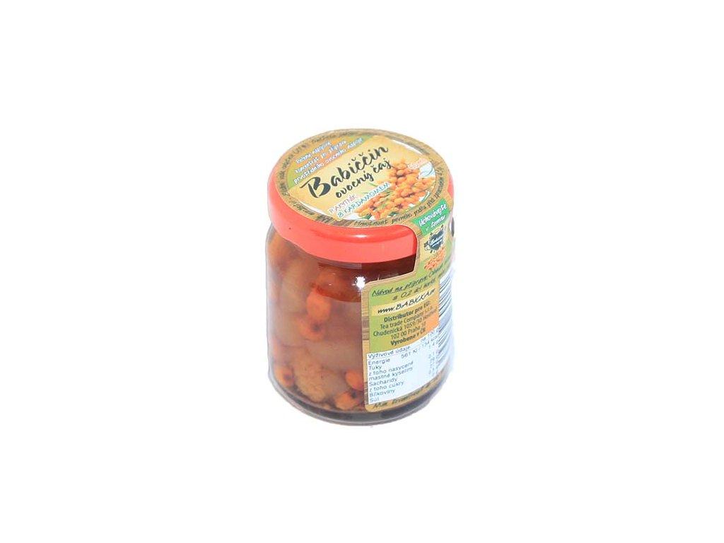 Babiččin ovocný čaj - Rakytník s kardamomem 60ml