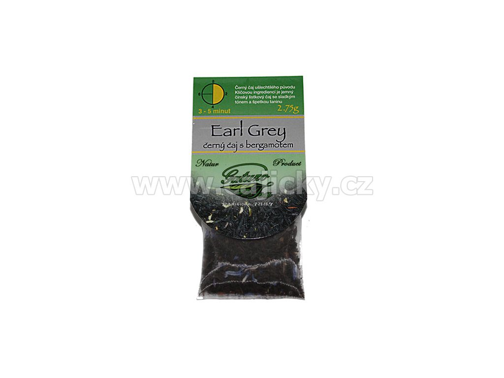 Čaj Gatuzo - Earl Grey, 1ks