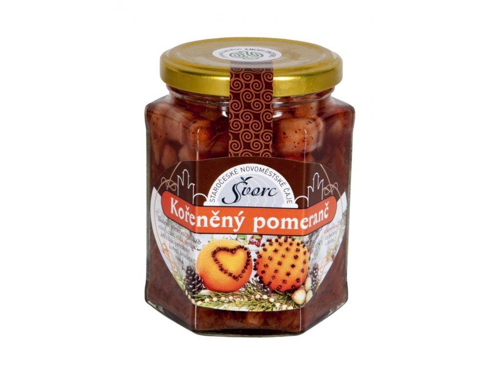 120 svorc peceny caj koreneny pomeranc sklo 275 ml