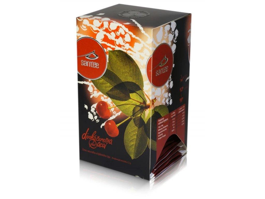 Čaj Santée - Divoká třešeň & Acaí
