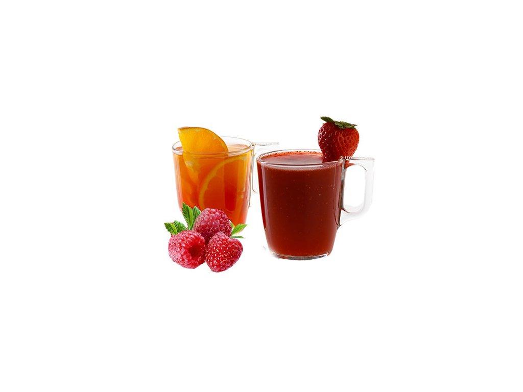 hot drinky malina bez
