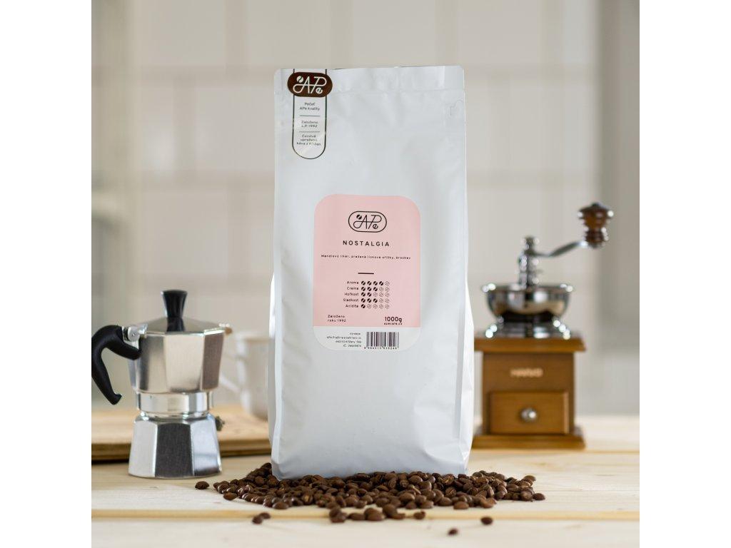 5883 10 kava nostalgia mleti zrnkova nemleta kava vaha 500g