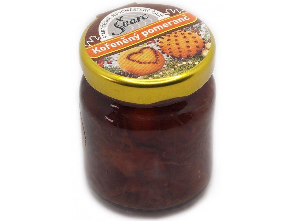 123 1 svorc peceny caj koreneny pomeranc sklo 60 ml