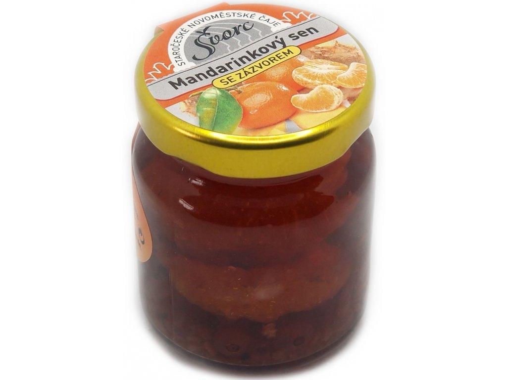 183 1 svorc peceny caj mandarinkovy sen se zazvorem 60 ml