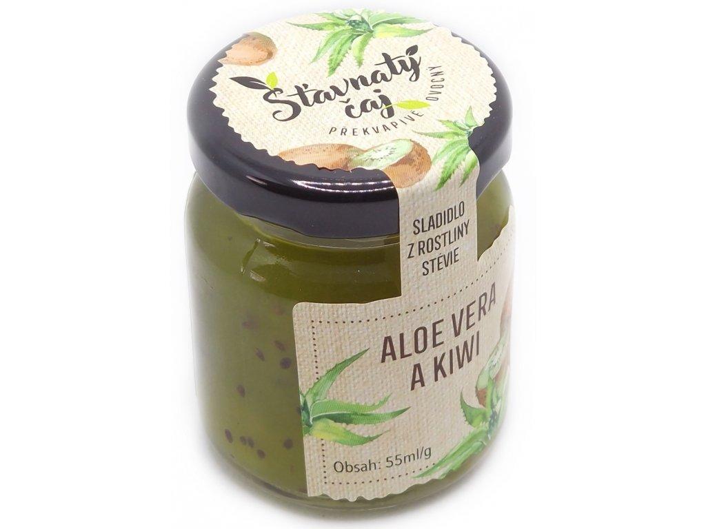 ovocny caj aloe vera a kiwi 55 ml l