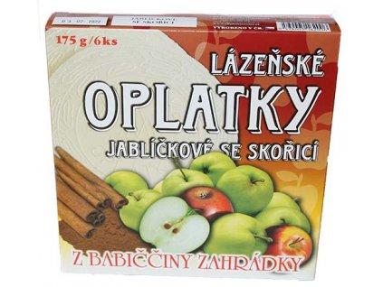 15 lazenske oplatky jablko skorice