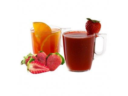 hot drinky jahoda bez