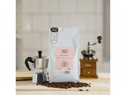 5883 9 kava nostalgia mleti zrnkova nemleta kava vaha 500g
