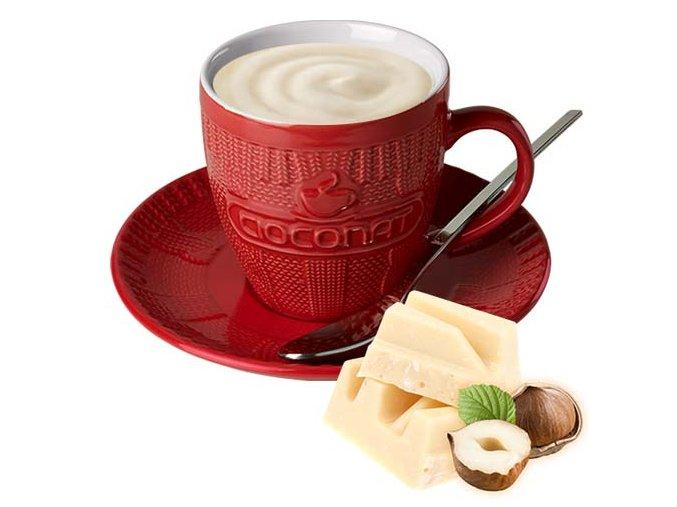 Cioconat - Bílá s oříšky, 28g