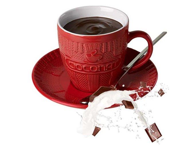 Horká čokoláda Cioconat - Mléčná, 28g