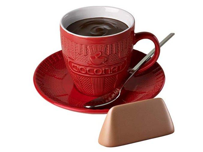 Horká čokoláda Cioconat - Nugátová, 28g