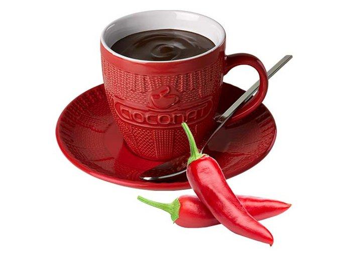 Horká čokoláda Cioconat - Paprička, 28g
