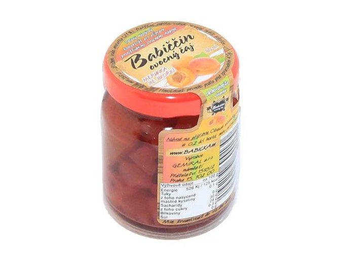 Babiččin ovocný čaj - Meruňka se skořicí, 55ml