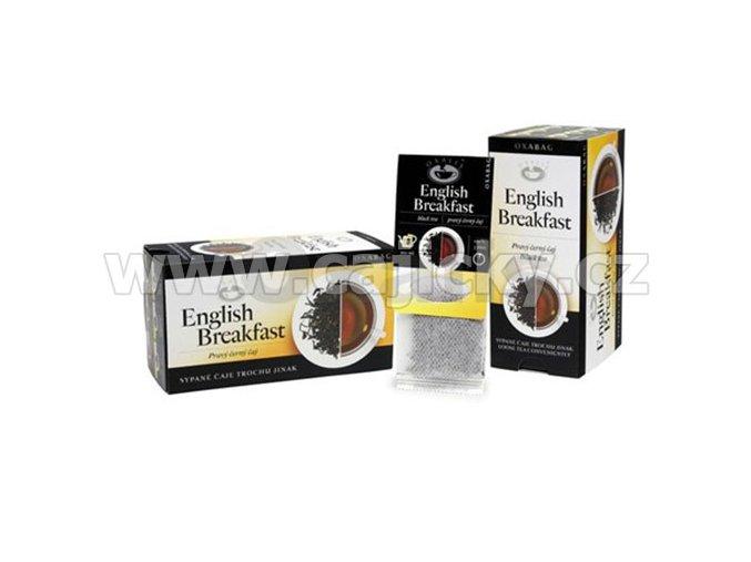 Čaj Oxabag - English Breakfast Tea (10 sáčků x 4g)