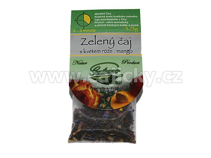 Čaj Gatuzo - Zelený čaj s ruží a mangem, 1ks