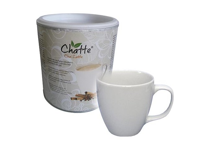 Kolekce Chatte - Chai Latte dóza 480g a šálek 380ml
